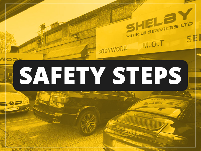 Safety steps at Shelby!